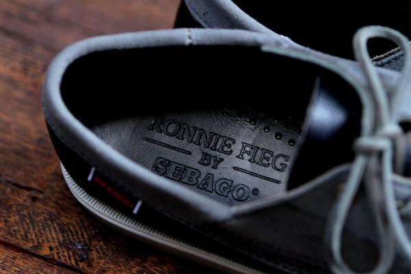 Ronnie Fieg x Sebago Vincent 'Navy'