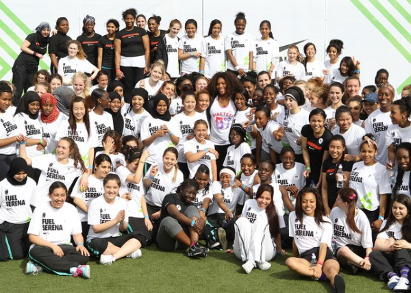 Serena Williams Inspires Girls to #MAKEITCOUNT