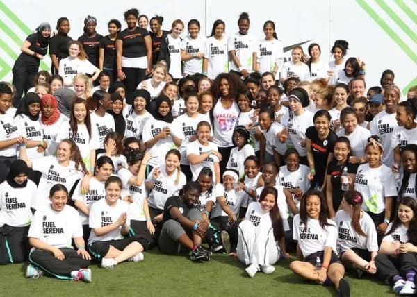 Serena Williams Inspires Girls to #MAKEITCOUNT