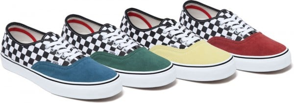 Supreme x Vans Authentic Summer 2012 - Release Date + Info