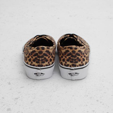 Vans Authentic Leopard 'Black/Brown'
