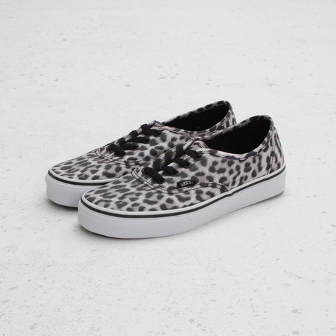 Vans Authentic Leopard 'Black/White'
