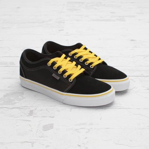 black and yellow vans