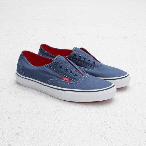 Vans Era Laceless 'Navy/True White'