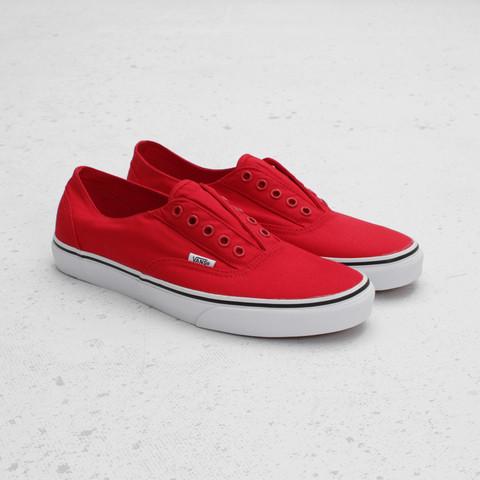 Vans Era Laceless 'Red/True White'
