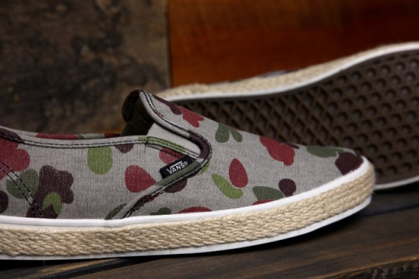 Vans LP Slip-On Espadrille 'Camo'