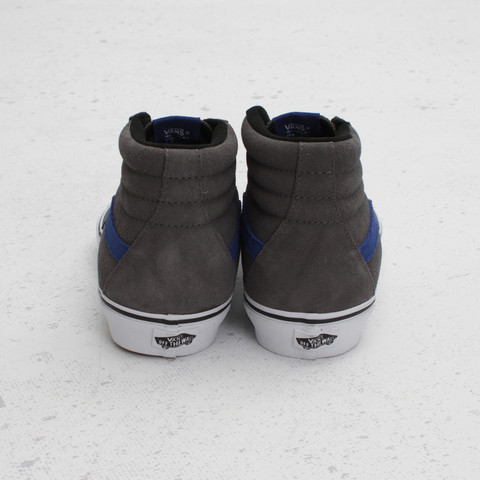 Vans Sk8-Hi Suede 'Pewter/True Blue'