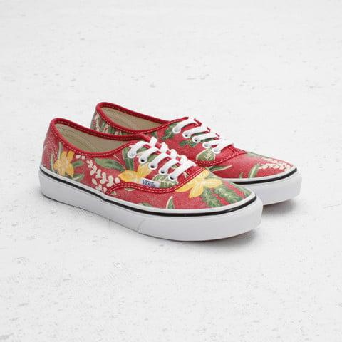 Vans Authentic Slim Van Doren 'Red/Hawaiian'