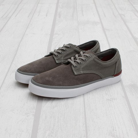 Vans Syndicate Derby 'Pewter/Ruby-White'