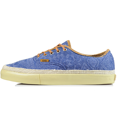 Vans Vault Authentic LX 'Tiki' Blue