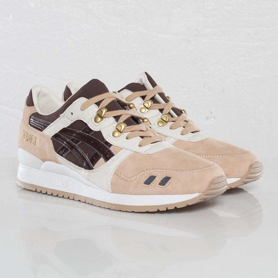 WOEI x ASICS Gel Lyte III 'Cervidae' at SNS