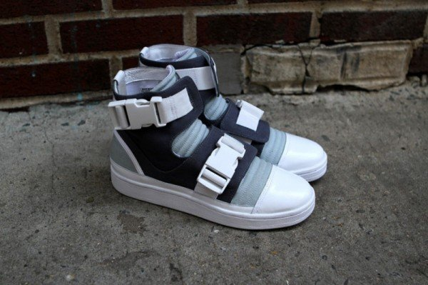 adidas SLVR High Top Buckle 'Blue'