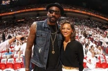 Celebrity Sneaker Watch: Amar'e Stoudemire Courtside in Nike Air Yeezy 2