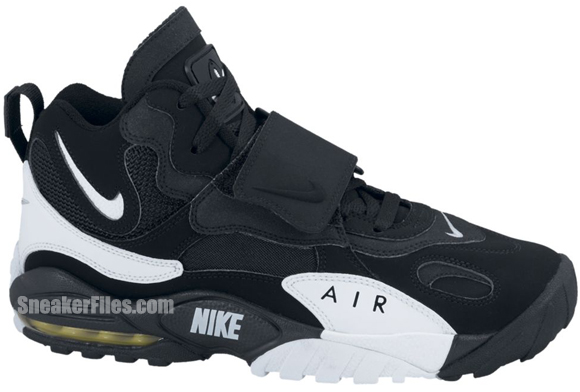 Nike Air Max Speed Turf 'Black/White-Voltage Yellow'