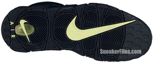 Nike Air More Uptempo 'Black/Volt'