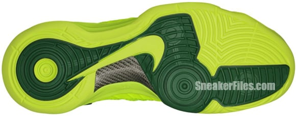 Nike Hyperdunk 'Volt/Gorge Green'