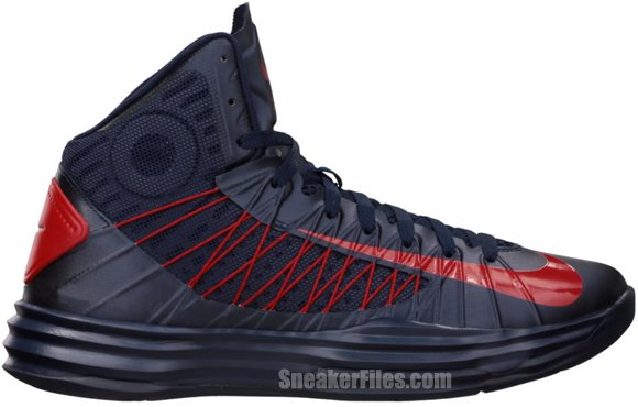 new product dae77 0f215 Nike Lunar Hyperdunk 2012 'Obsidian/University Red' | SneakerFiles