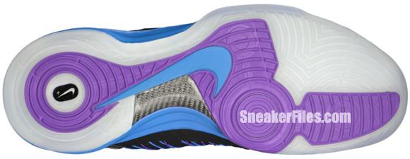 Nike Hyperdunk+ Sport Pack 'Black/Metallic Silver-Blue Glow-Blue Tint'