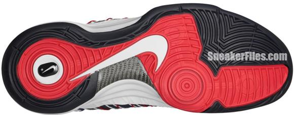Nike Hyperdunk+ Sport Pack 'Olympic' - White/University Red-Obsidian