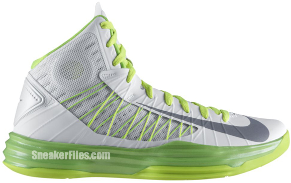 Nike Hyperdunk 'Summit White/Wolf Grey-Electric Green-Liquid Lime'
