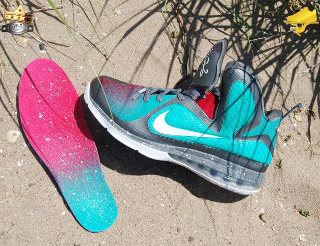 "huge selection of 10552 db613 Nike Zoom KD IV ""ParaNorman"" Customs by GourmetKickz nike-lebron -9-mvp-in-south-beach-custom- ..."