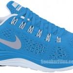 Nike Women's LunarGlide+ 4 'Blue Glow/Reflective Silver-Blue Tint'