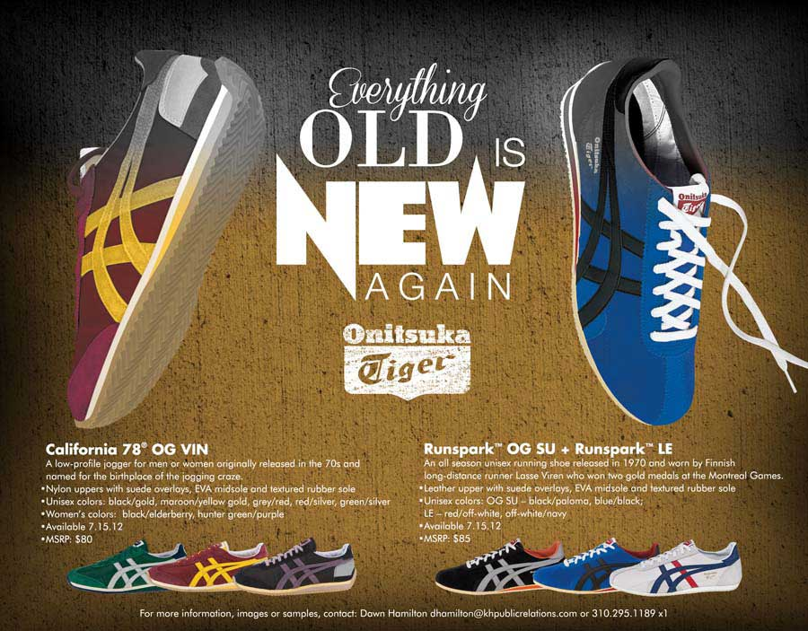 quality design 741b6 57a4f Onitsuka Tiger - Everything Old Is New Again | SneakerFiles