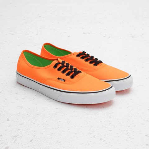 Vans Authentic Neon 'Orange/Green'