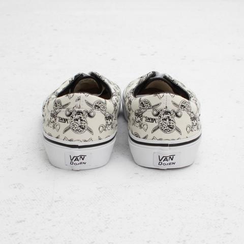 Vans Era Van Doren 'White/Skulls'
