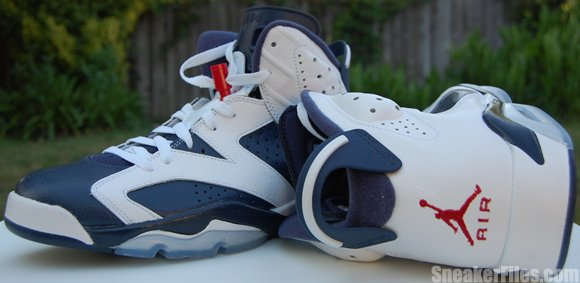 buy popular 404d6 02cde Olympic Air Jordan 6 (VI) 2012 Retro Video | SneakerFiles