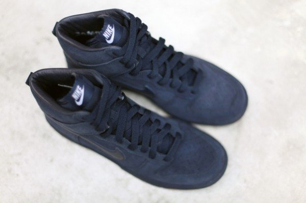 A.P.C. x Nike Dunk High 'Navy' - Fall 2012