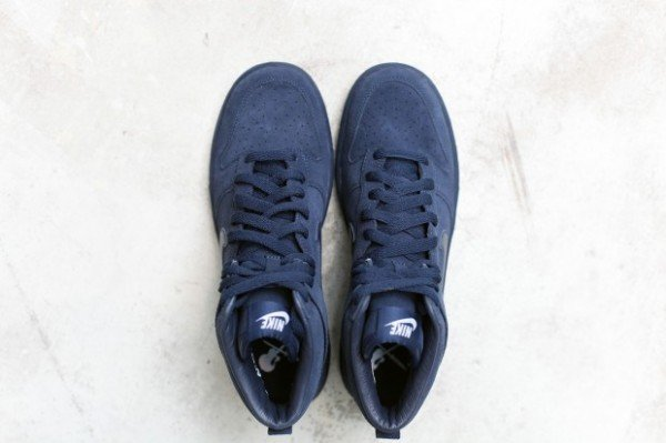 A.P.C. x Nike Dunk High 'Navy' - Fall 2012
