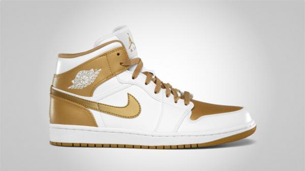 low cost 5ba71 0464e Air Jordan 1 Phat 'Gold Medal' - Official Images | SneakerFiles