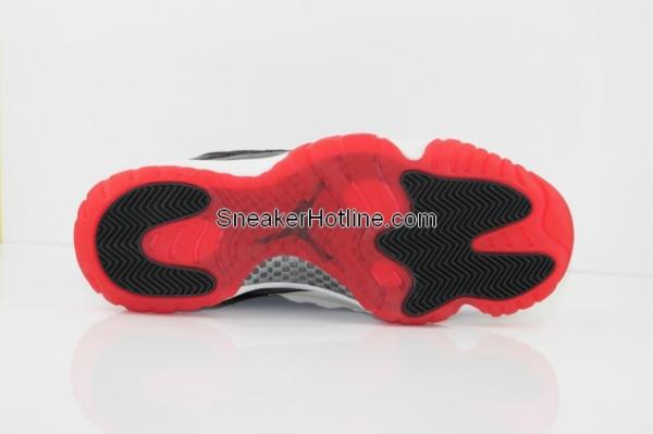 Air Jordan 11 'Black/Red' 2012 Retro Packaging