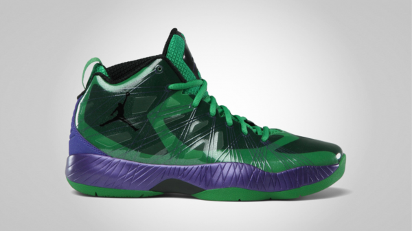 Air Jordan 2012 Lite 'Classic Green/Black-Court Purple' - Official Images