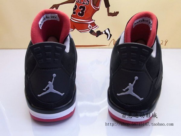 Air Jordan 4 'Black/Cement' 2012 Retro