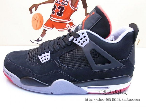 Air Jordan 4 'Black/Cement' 2012 Retro