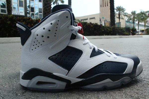 Air Jordan 6 'Olympic' at Mr. R Sports