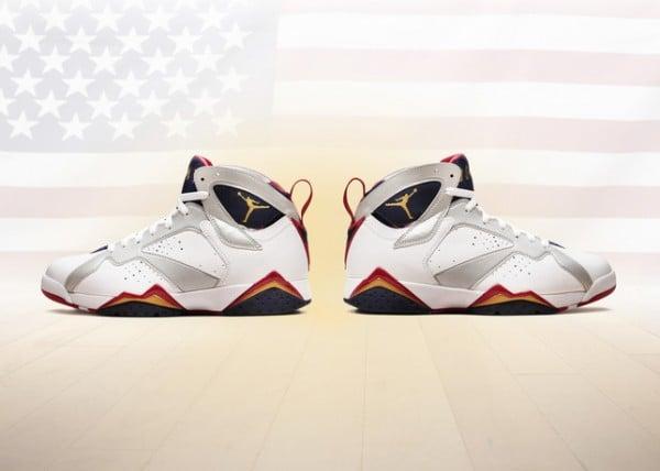 a5772cf313a6 Air Jordan 7  Olympic  2012 Retro - Officially Unveiled