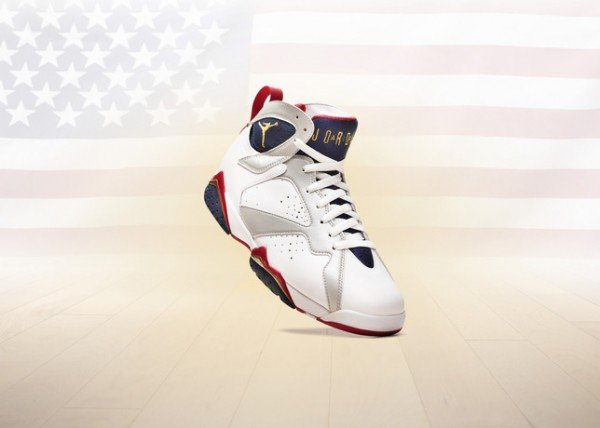 Air Jordan 7 'Olympic' 2012 Retro - Officially Unveiled