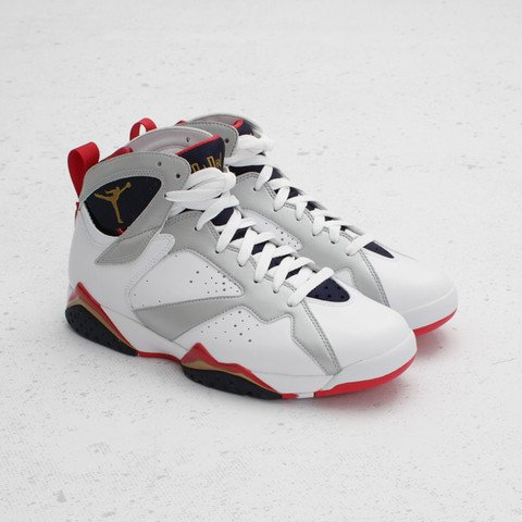 new product 7e2d3 2adac Air Jordan 7 'Olympic' at Concepts | SneakerFiles