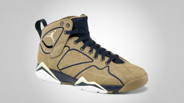 Air Jordan 7 J2K 'Filbert/Natural-Obsidian-White' - Official Images
