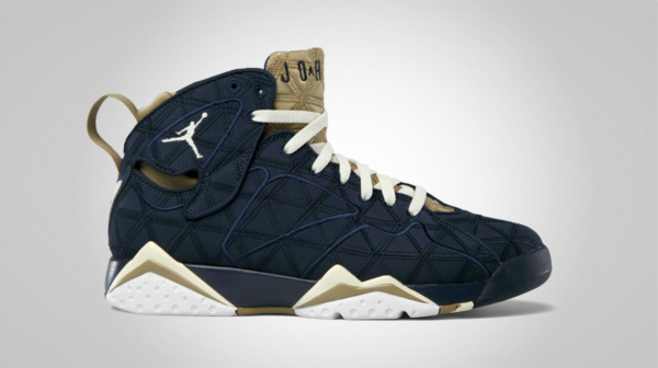Air Jordan 7 J2K 'Obsidian/Natural-Filbert-White' - Official Images
