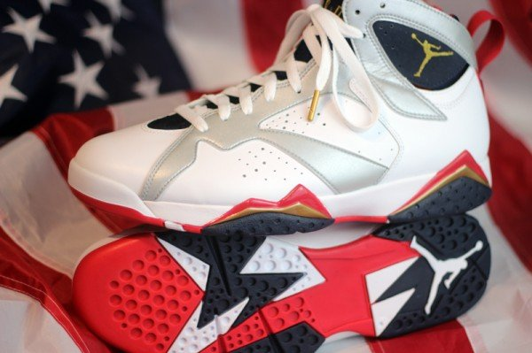 7b7f37620e1cb1 Air Jordan 7  Olympic  at Social Status