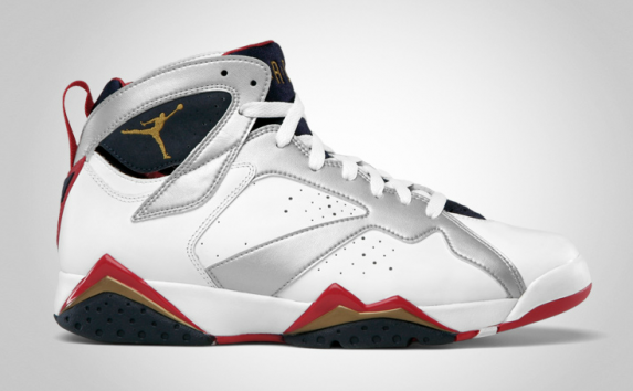 Release Reminder: Air Jordan 7 'Olympic'