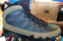 Air Jordan 9 'Olive' 2012 Retro – New Images