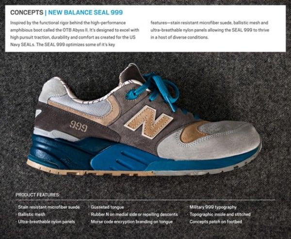 Concepts x New Balance 999 'S.E.A.L.'