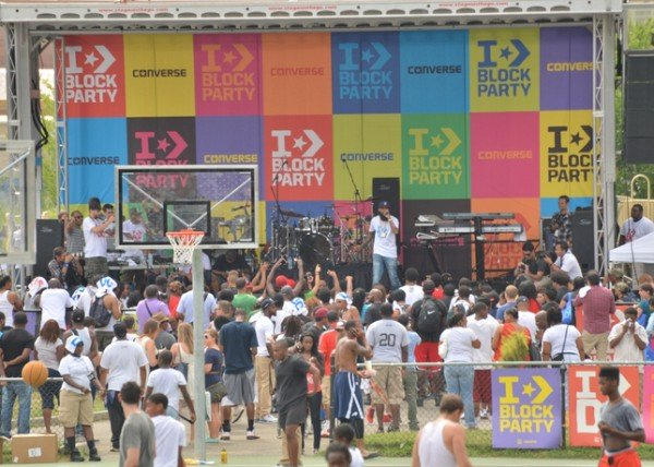 Converse Block Party - World Basketball Festival 2012