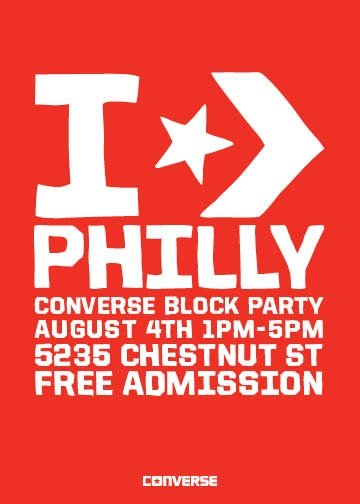 Converse Philadelphia Block Party and UBIQ Event
