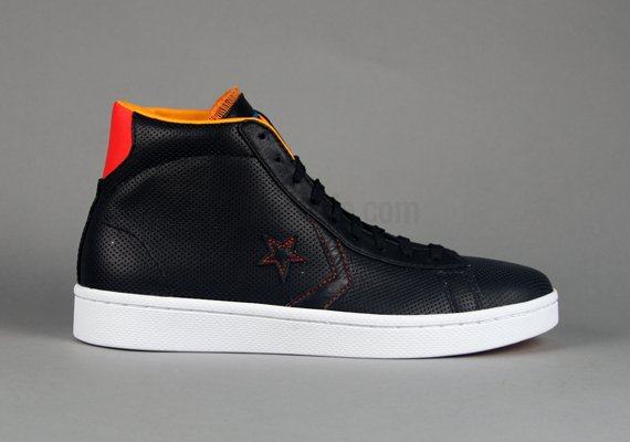 Converse Pro Leather Hi 'World Basketball Festival' Black/Orange